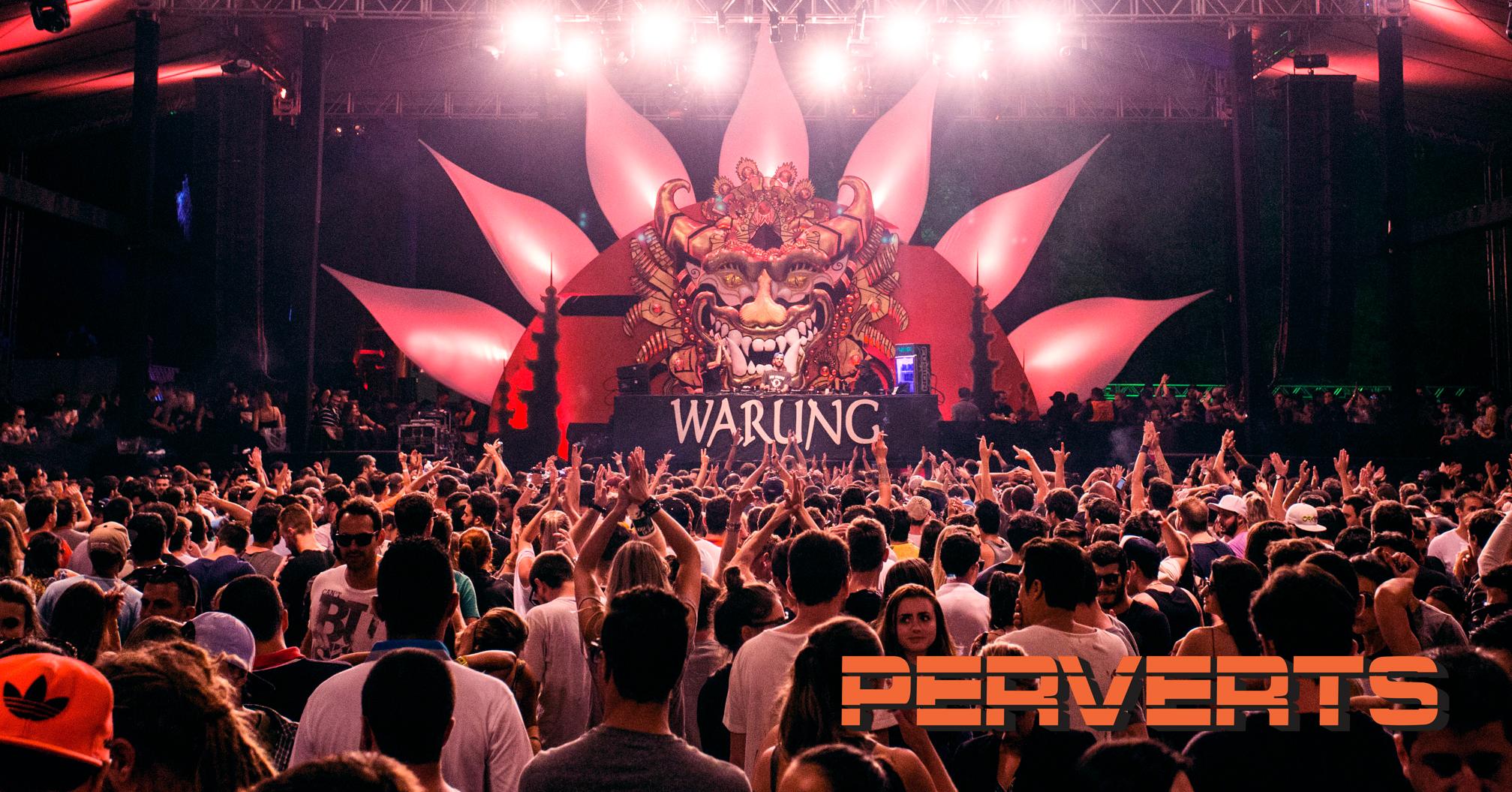 Warung Day Festival  . 21 de março de 2015, na Pedreira Paulo Leminski.  . cenografia: Perverts . fotografia © Rubens Nemitz Jr